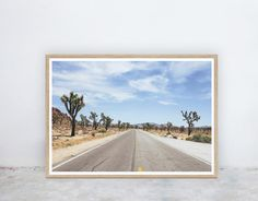 Shop for prints on Etsy, the place to express your creativity through the buying and selling of handmade and vintage goods. Printable Art, Printables, Nine Lives, Palm Springs, Cactus, Road Trip, Deserts, California, Art Prints
