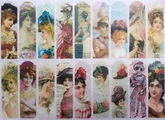 Rice Paper for Decoupage Decopatch Scrapbooking Sheet Craft Vintage Lady Labels