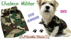 Chaleco militar camuflado para perritos
