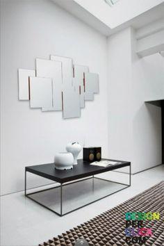 http://www.designperclick.com/product/107/Zanotta-Pablo.html Un gioco di #specchi contenuto in un unico #specchio da parete! #Pablo Zanotta diversi #cristalli sovrapposti fanno in modo che l'immagine riflessa sia l'insieme di più immagini. #Design by #GabrieleRosa.
