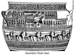 Geometric Style Vase: Iconography in Greek Religion What Is Religion, Ancient Greek Religion, Atheism, Mythology, Faces, Pottery, Mood, Street, Painting