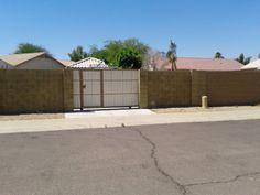 Does an RV Gate make a House Rent Faster? call Jennie Miller 480 382 9681 www.jenniemillerrealtor.com