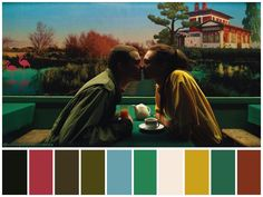 """Love"" (2015) •Directed by Gaspar Noé •Cinematography: Benoît Debie •Production Design: Samantha Benne Movie Color Palette, Colour Pallette, Colour Schemes, Cinema Colours, Color In Film, Benne, Color Script, Movie Shots, Film Inspiration"