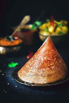Masala Dosa popularSouth Indian food made from rice, spicy potatoes, served withChutney, Sambar. Masala Dosa thin crispy and devour for breakfast, lunch.