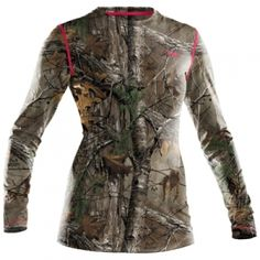 Find the Under Armour Misses' HeatGear EVO Camo Tee - Realtree AP-Xtra by Under Armour at Mills Fleet Farm.  Mills has low prices and great selection on all TShirts.