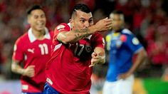 Gary Medel scores as Chile qualify for the World Cup World Cup 2014, Fifa World Cup, Laws Of The Game, International Football, National Association, Competition, Scores, Celebrities, Brazil