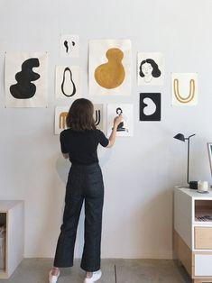 art | wall art | artists | brunette | home | settle | wall decor | creative | minimal