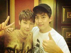 Kim Sung-kyu & Ok Taecyeon (INFINITE, 2PM)
