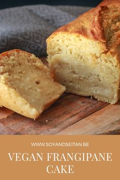 Healthy Cake Recipes, Vegan Recipes, Dessert Recipes, Y Food, Food And Drink, Vegan Snacks, Vegan Desserts, Vegan Cake, Vanilla