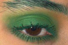 green make up Makeup Goals, Makeup Inspo, Makeup Art, Makeup Inspiration, Beauty Makeup, Hair Makeup, Makeup Eyes, Cute Makeup, Pretty Makeup