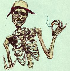"""""""When angry, count to four; when very angry, swear."""" - #MarkTwain #art #skeletons http://awakenyc.com/"""