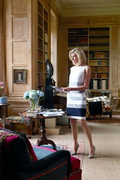 Look inside American entrepreneur Lynn Forester de Rothschild& storied English estate. Plus, read the full article, here. Decor, Home, English Estate, House Design, Family Room, Traditional House, Interior, Beautiful Interiors, Home Libraries