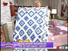 """Derya Baykal - Deryanın Dünyası - """"Tığ işi ile battaniye yapımı"""" - 04.06..."""