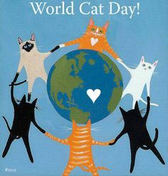 Celebrated around the globe, on August 8, 2013.  They provide enough purrs to bring peace to our planet!