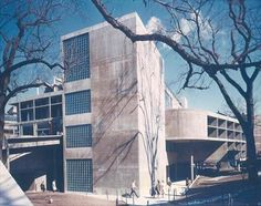 A great building. The Carpenter Center for Visual Arts at Harvard, by Le Corbusier