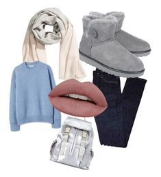 """""""its cold outside"""" by efsi on Polyvore featuring Yves Saint Laurent, UGG and Miss Selfridge"""