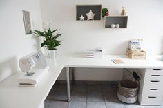 Ikea Desk for Two . Ikea Desk for Two . Minimalist Corner Desk Setup Ikea Linnmon Desk top with