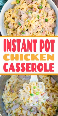 Instant Pot Chicken Casserole Recipe This Instant Pot chicken casserole is one of the most amazing pressure cooker dinner recipes I have made thus far! Get ready for creamy goodness. Night Dinner Recipes, Romantic Dinner Recipes, Instant Pot Dinner Recipes, Winter Dinner Recipes, Best Dinner Recipes, Summer Recipes, Chicken Casserole, Casserole Recipes, Crockpot Recipes