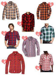 Dapper Stuff: 8 Plaid & Check Shirts I'm Loving for Fall on Captain Dapper