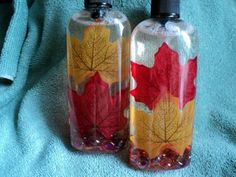 Soap - Leaf Antibacterial Soap Bottle