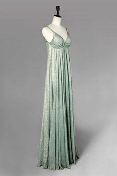 callot soeurs couture | CALLOT Sœurs Haute Couture, n° 42141, circa 1930. Robe du soir ...
