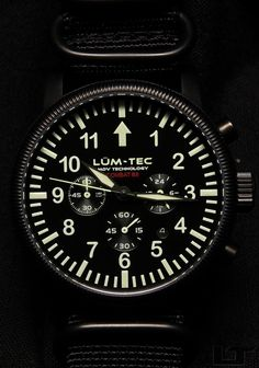 Lum-Tec just posted this striking shot of their new B8 chronograph. I love the styling and quality - Lum-Tec is great at PVD coatings and lume - but I'm sad,..