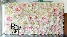 painel-de-flores-de-papel