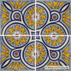 Decorative Mexican Tiles Mexican Tile  Decorative Talavera Tile Set  X7034  House Decor