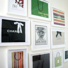 Dressing room idea for @Chantel Anderson  This is SO perfect for you!