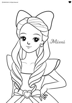 Abstract Coloring Pages, Cute Coloring Pages, Coloring Books, Barbie Drawing, Doll Drawing, Disney Drawings Sketches, Cool Art Drawings, Drawing Cartoon Characters, Cartoon Drawings