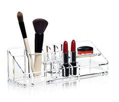Nomess Copenhagen - CLEAR MAKE-UP ORGANIZER #inspirationdk #nyhed #Nomess #MakeUp #beauty #skønhed