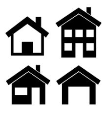cad08352733fb4129812e51db2fe73d1 download this image as black house rh pinterest com house vector art house vector png