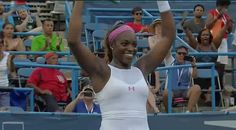 "8/9/15  'This Trophy is for all of us ..."" .... Via Live Tennis:  She's done it! @SloaneStephens takes her first title at the @CitiOpen, defeating Pavlyuchenkova 6-1, 6-2"