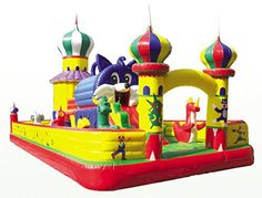 Outdoor inflatable bouncer Inflatable trampoline Inflatable castles PVC air bouncer