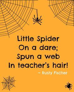 Little Spider... A Halloween poem