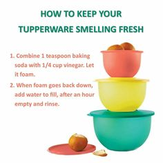 How to Keep Your Tupperware Smelling Fresh! tabithabowers.my.tupperware.com