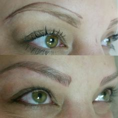 Brows and liner