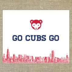 Hey, I found this really awesome Etsy listing at https://www.etsy.com/listing/251183018/chicago-cubs-go-cubs-go-song-8-x10