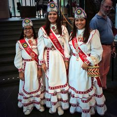 Choctaw Princesses @SmithsonianNMAI #ChoctawFestival