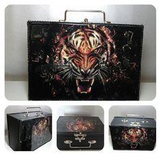 Maleta tigre 3D