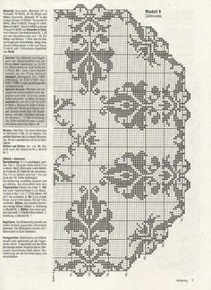folder also has edgings and album has Disney cross stitch designs and Russian border designs for clothes.clothing patterns also. Filet Crochet Charts, Crochet Borders, Crochet Stitches Patterns, Thread Crochet, Cross Stitch Patterns, Crochet Curtains, Crochet Tablecloth, Crochet Doilies, Mantel Redondo