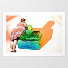 Shadow Heat Art Print by crismanart Manipulation Photography, Framed Art Prints, Outdoor Decor, Artwork, Photos, Design, Work Of Art, Auguste Rodin Artwork, Artworks