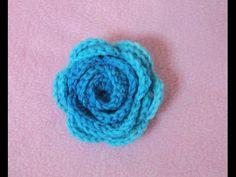 πλεκτο λουλουδι Νο1-ευκολο και γρηγορο(plekto louloudi No1-efkolo kai grigoro - YouTube Crochet Art, Cute Crochet, Easy Crochet, Crochet Flowers, Crochet Boarders, Mint Flowers, Knitting Videos, Flower Tutorial, Knitwear