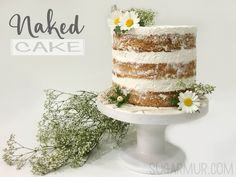 Naked Cake Daisy, el poder de la nata vegetal y UNA CARAVANA!   Sugar Mur