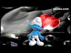 Liebe ist - wenn man mit dem Herzen liebt❤️❤️I love you❤️Schlümpfe, Z... Animation, Smurfs, Christmas Ornaments, Holiday Decor, Youtube, Character, Art, Love, Art Background