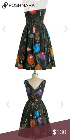 Free People Let's be Surrealistic dress Not free people, just tagged for exposure. La Casita De Wendy brand. Worn once. In excellent condition. Zips up the side Size 36 (EU)/S. 37 inches in length. Simply gorgeous Free People Dresses