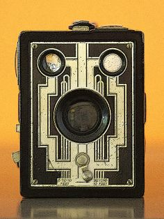 What a decorative vintage camera!http://toula-mavridou-messer.artistwebsites.com/featured/1-new-photographic-art-print-for-sale-vintage-camera-toula-mavridou-messer.html