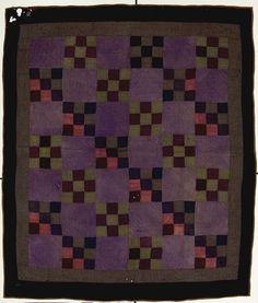 Indiana State Museum et lieux historiques Antique Quilts, Vintage Quilts, Amische Quilts, 16 Patch Quilt, Amish Quilt Patterns, Quilting Designs, Quilt Design, Man Quilt, Traditional Quilts