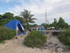 10 Spectacular Spots In Florida Where You Can Camp Right On The Beach