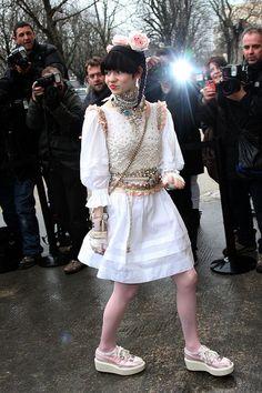 Grimes / 22 Jan 2013     Paris Fashion Week Haute Couture Spring 2013 - Chanel - Outside Arrivals